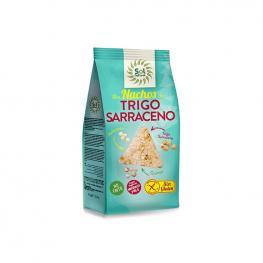 Nachos de Trigo Sarraceno Sin Gluten 80 Gr