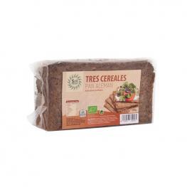 Pan Aleman Tres Cereales Bio 500 Gr