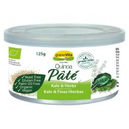 Pate Quinoa Kale y Finas Hierbas Bio 125 Gr