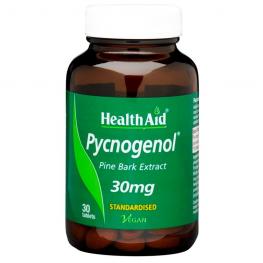 Pycnogenol 30 Mg 30 Tablets
