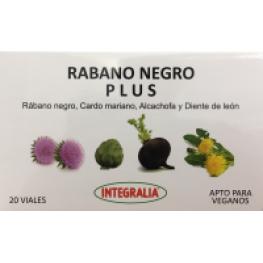 Rabano Negro Plus 20 Viales