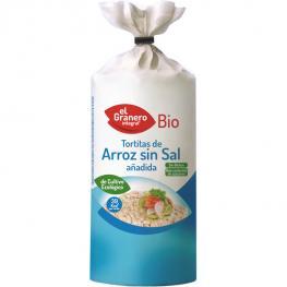 Tortitas de Arroz Sin Sal Añadida 100 Gr