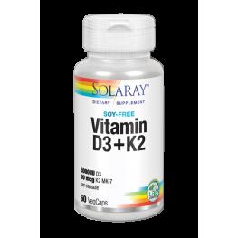 Vitamin D3+K2 60 Cap