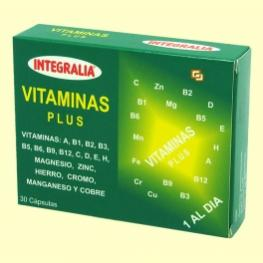 Vitaminas Plus 30 Cap