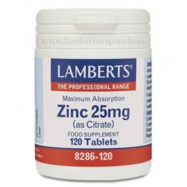 Zinc Citrato 25 Mg 120 Tab