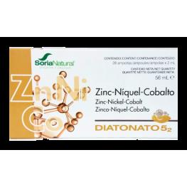 Zinc-Níquel-Cobalto Diatonato 5,2 28 Ampollas