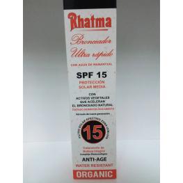 Rhatma Bronceador Ultra Rapido 200 Ml