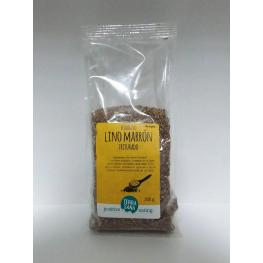Lino Marrón Triturado 200 Gr