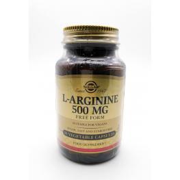 L-Arginine 500 Mg 50 Cap