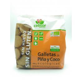 Galletas de Piña y Coco Eco 200 Gr