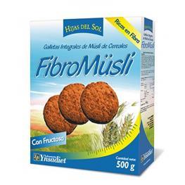 Galletas Int. Múesli de Cereales Fibromüsli 500 Gr