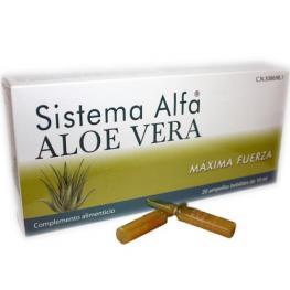 Sistema Alfa Aloe Vera 20 Viales