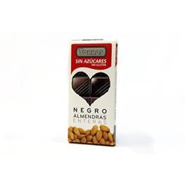 Chocolate Negro Con Almendras Enteras Sin Azúcar 150 Gr