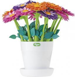 Vig 6058 Plumero Microfibra Pantallas Flower Shop C/jarron (X6)