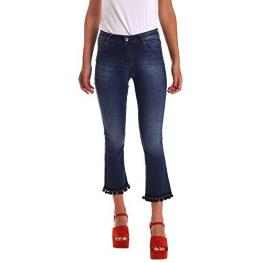 Pantalon Acampanado Detalles Bolitas, Denny R.,