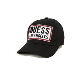 Gorra Negra Logo Guess T.U