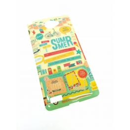 Funda Gel Lg Bello 2 Con Dibujo de Summer