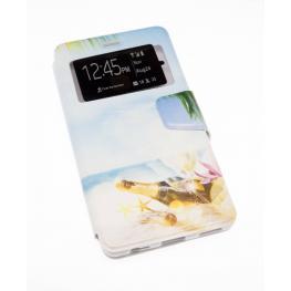 Funda Libro Huawei P9 Plus Con Foto de Playa