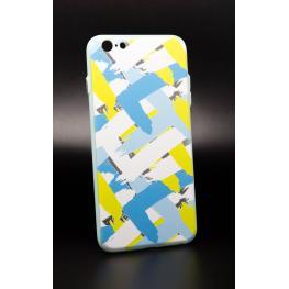Funda Gel Rígida Iphone 6 Plus - 6S Plus Con Dibujo de Lineas Pintadas