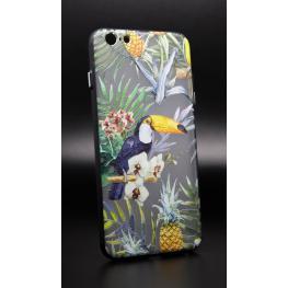 Funda Gel Rígida Iphone 6 Plus - 6S Plus Con Dibujo de Tucan