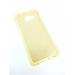 Funda Gel Brillante Dorada Galaxy A3 (2016) / A310