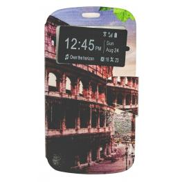 Funda Libro Galaxy S3 / 9300 Con Dibujo de Roma