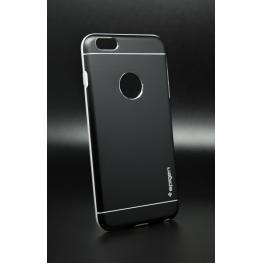 Funda Design Negra Gel Por Dentro Metalica Por Fuera Iphone 6 Plus/6S Plus