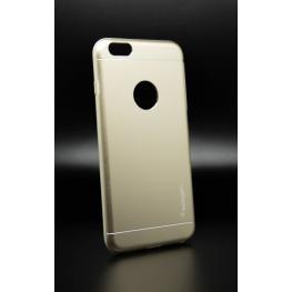 Funda Design Dorada Gel Por Dentro Metalica Por Fuera Iphone 6 Plus/6S Plus