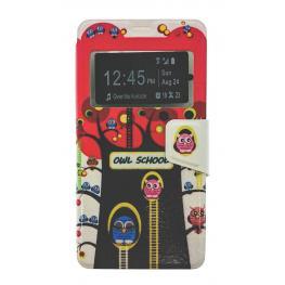Funda Libro Nokia Lumia 950 Con Dibujo árbol y Pajaros
