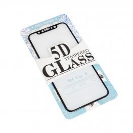 Iphone X Max Cristal Templado 5D Color Negro