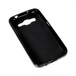 Funda Gel Negra Alcatel Pixi 3 5.0