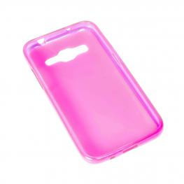 Funda Gel Rosa Alcatel Pop C1 / Orange Yumi