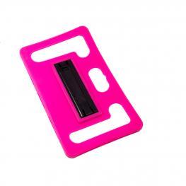 Funda Gel Rosa Compatible Para Tablet 7
