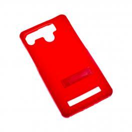 Funda Gel Compatible Roja 4.5