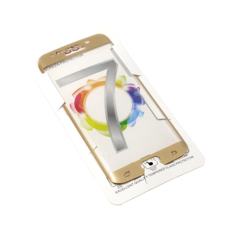 Cristal Templado Curvo Dorado Samsung Galaxy S6 Edge