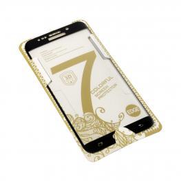 Cristal Templado Curvo Negro Samsung Galaxy S6 Edge Plus
