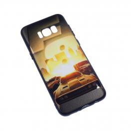 Galaxy S8 Funda Gel Rigida Con Dibujo de Coches