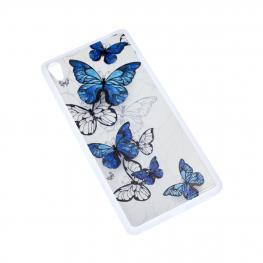 Xa Ultra Funda Con Dibujo de Mariposas