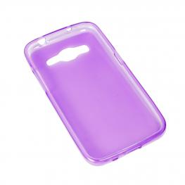 Bq Aquaris V Plus Funda Gel Morada