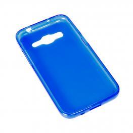 Funda Gel Azul Alcatel Pop 4 Plus