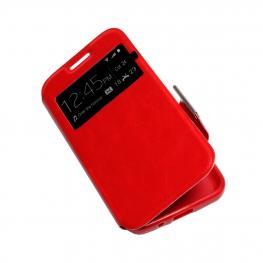 Galaxy Note 8 Funda Libro Roja