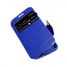 Galaxy Note 8 Funda Libro Azul