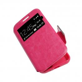 Funda Libro Rosa Alcatel One Touch Pop C9