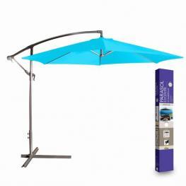 Sombrilla Parasol Turquesa Diam.300 X H250Cm/180Gr