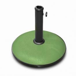 Soporte Sombrilla Verde Cemento 15Kg-44X40