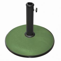 Soporte Sombrilla Verde Cemento 25 Kg
