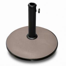 Soporte Sombrilla Topo Cemento 25 Kg