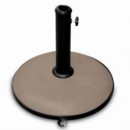 Soporte Sombrilla Topo Cemento 25 Kg C/ Ruedas
