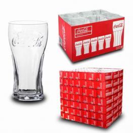 Vaso Coca Cola  X6 37 Cl