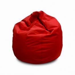 Puff Rojo Polipiel +/- Diam 80 X H 80 Cm